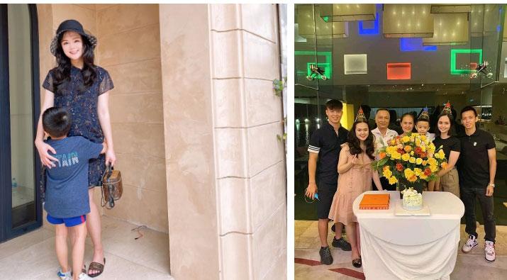 Bà bầu Quỳnh Anh khiến fan giật mình vì khuôn mặt khác lạ, còn khoe mua túi Hermes để đựng bỉm cho con-2