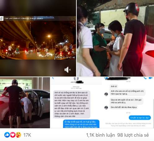 Thấy người phụ nữ mang bầu gặp tai nạn nằm co giật giữa đường trong đêm vắng, tài xế ô tô có hành động đẹp khiến nhiều người cảm kích-4