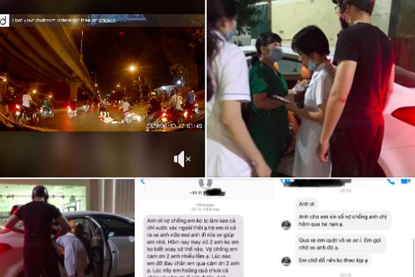 Giúp đỡ thai phụ gặp tai nạn giữa đường, tài xế khiến nhiều người cảm kích