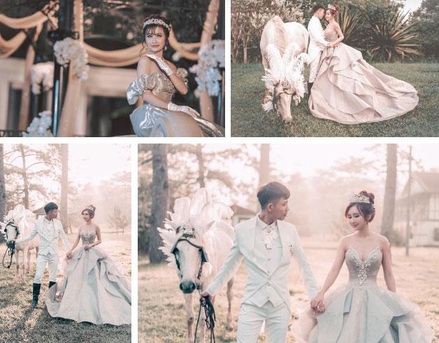 Tổ chức kỷ niệm 8 năm ngày cầu hôn vợ kiểu đại gia Minh Nhựa, ghen tị từ cách bày tiệc đến món quà xa xỉ cặp đôi dành tặng cho nhau-3