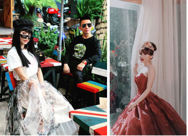 Tổ chức kỷ niệm 8 năm ngày cầu hôn vợ kiểu đại gia Minh Nhựa, ghen tị từ cách bày tiệc đến món quà xa xỉ cặp đôi dành tặng cho nhau-6