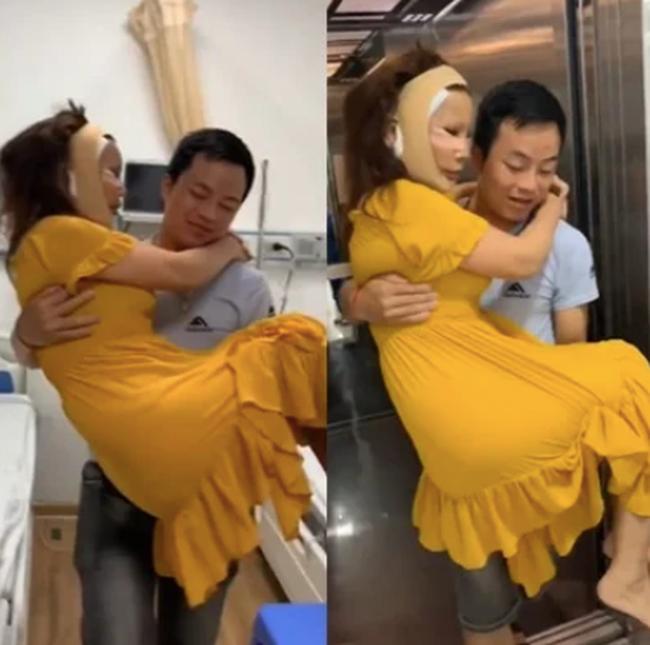 Cô dâu 63 tuổi ở Cao Bằng được chồng kém 36 tuổi cưng như trứng mỏng, đút cho ăn từng miếng nhưng trái ý là bị cắn thâm tím người?-2