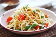 Cách làm gỏi đu đủ chua cay chính hiệu Thái Lan
