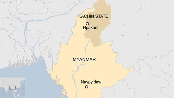 Sập mỏ ngọc bích ở Myanmar, 113 người chết-2