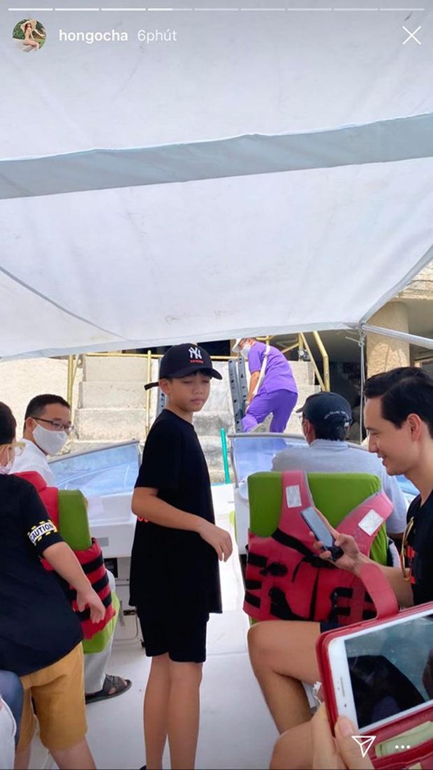 Hà Hồ khoe ảnh gia đình du lịch sang chảnh, bố dượng Kim Lý chiếm trọn spotlight vì đặc biệt chăm sóc Subeo-3