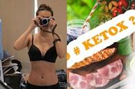 KETOX là phương pháp gì mà giúp Thanh Hằng giảm 4kg trong 7 ngày, eo xuống 51cm