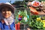 Cô gái 27 tuổi quyết định về quê sống cuộc đời bình dị, trồng rau, làm vườn sau khi tốt nghiệp thạc sĩ ở Thủ đô