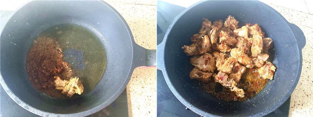 Chiều nay tôi làm món sườn om măng ăn cơm, đảm bảo ngon vô đối-3