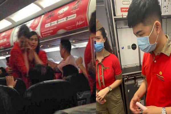 Nữ hành khách ném điện thoại vào tiếp viên hàng không bị cấm bay-1