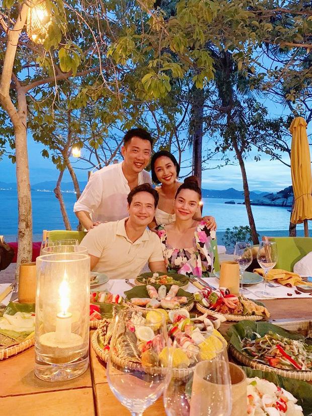 Ốc Thanh Vân hội ngộ gia đình Hà Hồ trong kì nghỉ sang chảnh, tiện dành lời chúc phúc cho mẹ bầu và Kim Lý-2