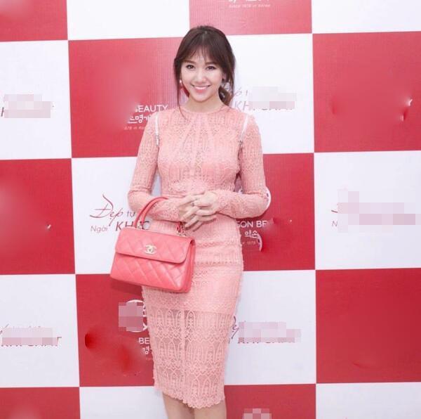 Mê đồ màu hồng, Hari Won từng nhiều lần mặc sến sẩm, túi xách trăm triệu cũng khó cứu vãn-4