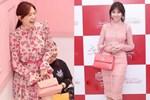 Mê đồ màu hồng, Hari Won từng nhiều lần mặc sến sẩm, túi xách trăm triệu cũng khó cứu vãn
