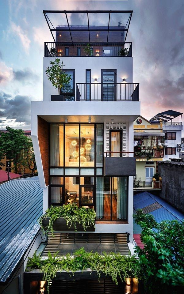 Chàng trai Hà Nội xây nhà đẹp báo hiếu bố mẹ, chỉ luôn cách tận dụng ánh sáng tự nhiên chẳng tốn tiền điện-1