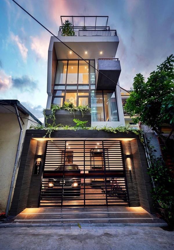 Chàng trai Hà Nội xây nhà đẹp báo hiếu bố mẹ, chỉ luôn cách tận dụng ánh sáng tự nhiên chẳng tốn tiền điện-2