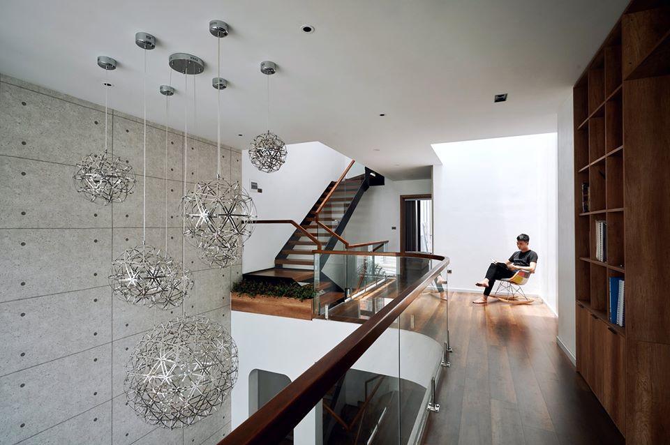 Chàng trai Hà Nội xây nhà đẹp báo hiếu bố mẹ, chỉ luôn cách tận dụng ánh sáng tự nhiên chẳng tốn tiền điện-14