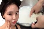 Chẳng lo mùa hè tới khi bạn nằm lòng 3 cách làm trắng da bằng nước vo gạo này