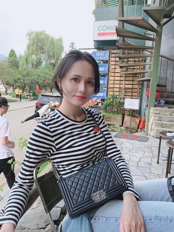 Chị gái công chúa béo Quỳnh Anh ăn mặc sang chảnh, túi Hermes nhiều hơn cả em gái-5