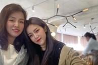 'Em gái mỹ nhân' của Ông Cao Thắng bất ngờ chia sẻ ảnh chụp cùng chị gái kín tiếng, nhan sắc người chị ruột khiến ai cũng trầm trồ