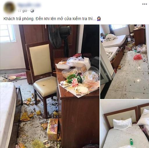 Khách vừa check out là lao vào dọn dẹp, chủ khách sạn bất lực, không nói nên lời khi nhìn thấy cảnh tượng trong phòng-1