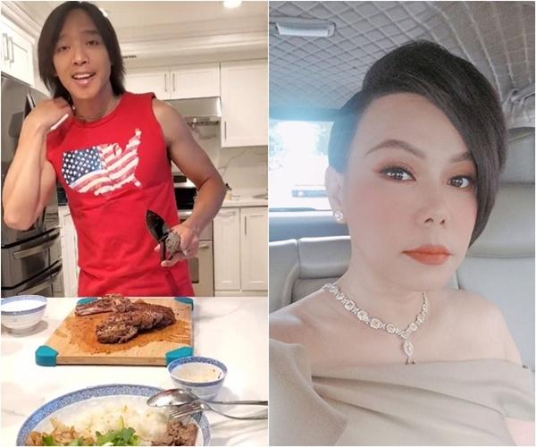 Ông xã lãng tử của Việt Hương làm thiên hạ ghen tị khi vào bếp nấu đồ ngon cho vợ-1