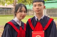 Bức ảnh kỷ yếu chiếm spotlight MXH: Cặp đôi 2K2 siêu dễ thương, bất ngờ yêu nhau sau 12 năm làm bạn
