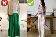 Cứ cẩn thận với 3 kiểu quần dài sau vì dù chúng không xấu nhưng lại khiến bạn 'dừ' đi một cơ số tuổi
