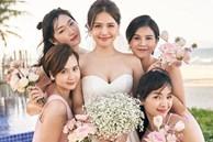Phanh Lee tung thêm ảnh trong đám cưới với thiếu gia Cocobay, vòng 1 'khủng' của cô dâu trở thành tâm điểm