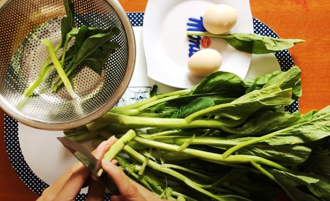 Cách làm các món ăn từ rau cải ngồng chống ngán tuyệt ngon-2