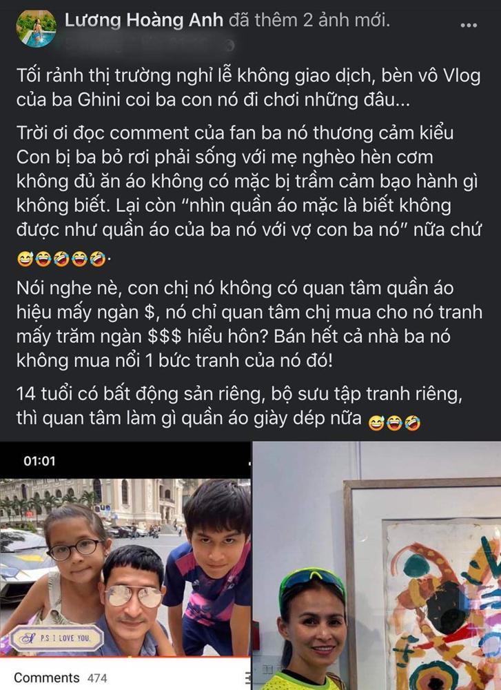 Bị chê con mặc nghèo hèn, vợ cũ Huy Khánh đáp: Con chị 14 tuổi có bất động sản riêng-2