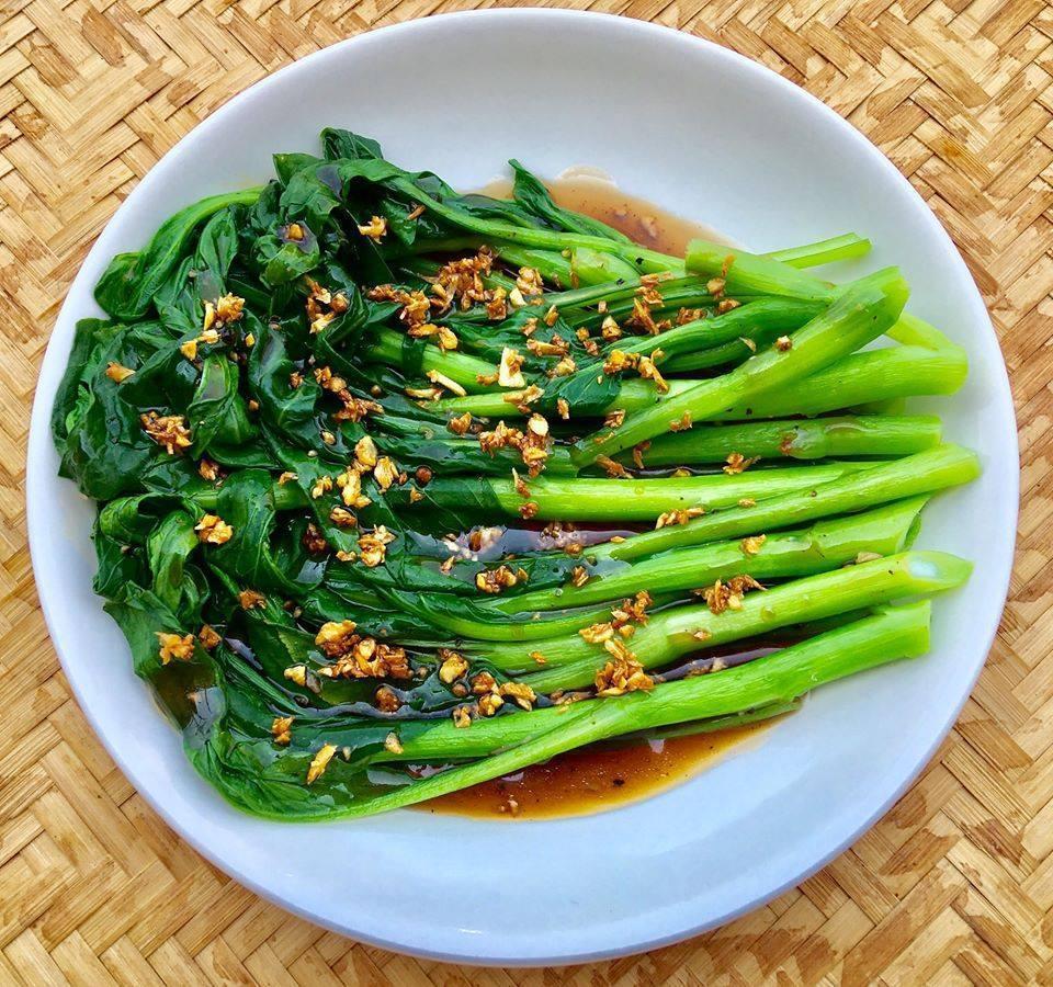 Cách làm các món ăn từ rau cải ngồng chống ngán tuyệt ngon-7