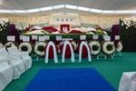 Tang lễ Vua sòng bài Macau: Tiếp tục gây chú ý với 6 tỷ đồng hoa tang và lời nhắn thâm tình của 3 bà vợ dành cho chồng quá cố