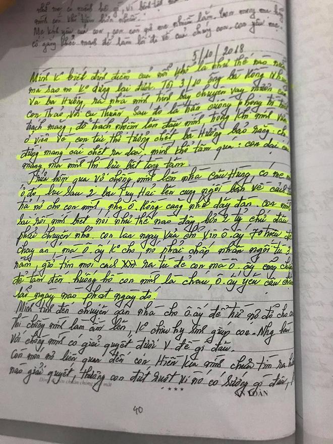 Những dòng nhật ký cuối đời của nữ nạn nhân trong vụ anh trai truy sát cả nhà em gái-2