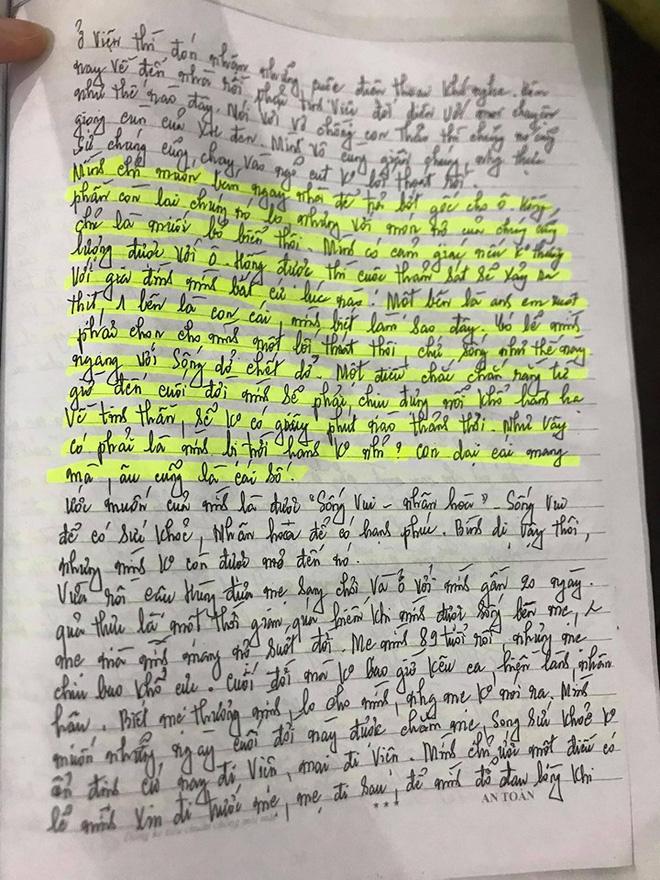 Những dòng nhật ký cuối đời của nữ nạn nhân trong vụ anh trai truy sát cả nhà em gái-6