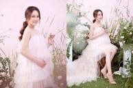 Vợ kém 13 tuổi của Dương Khắc Linh tung ảnh bầu ngọt như kẹo, bụng đã to như sắp sinh