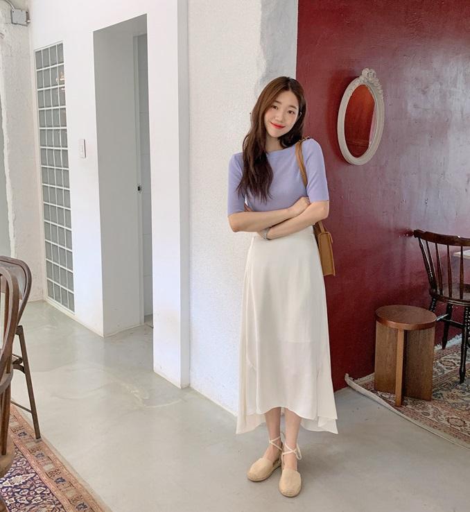Kỳ diệu chưa: 4 mẫu chân váy sau sẽ giúp bạn cao ráo hơn ít nhất 5 phân, có khi còn kéo chân dài miên man-12