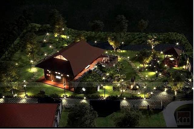 Chiêm ngưỡng nhà vườn bạc tỷ rau trái xum xuê, hoa nở bốn mùa của sao Việt-7
