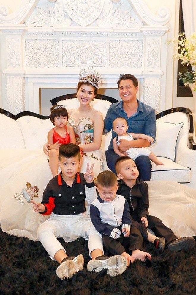Hoa hậu 6 con Oanh Yến: Tôi chưa từng tránh thai, cứ bầu là đẻ, không cân nhắc-3