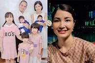 Hiếm khi xuất hiện, người vợ kín tiếng sinh 5 con với nghệ sĩ Vượng Râu được khen hết lời
