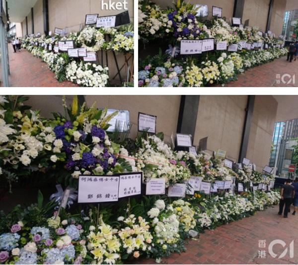 Khung cảnh tại tang lễ Vua sòng bài Macau ngày thứ 2: Người dân mang di ảnh đến viếng, quan chức cấp cao và giới doanh nhân cũng có mặt-13