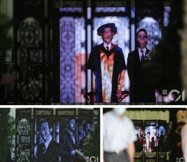Khung cảnh tại tang lễ Vua sòng bài Macau ngày thứ 2: Người dân mang di ảnh đến viếng, quan chức cấp cao và giới doanh nhân cũng có mặt-18