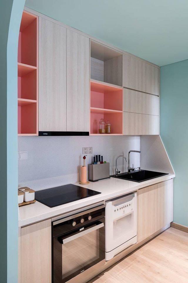 Thiết kế nội thất màu kẹo ngọt, hạn chế góc cạnh cho nhà có trẻ nhỏ của đôi vợ chồng Sài Gòn-3