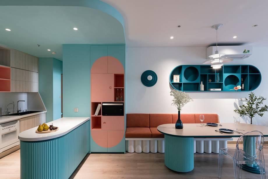 Thiết kế nội thất màu kẹo ngọt, hạn chế góc cạnh cho nhà có trẻ nhỏ của đôi vợ chồng Sài Gòn-5