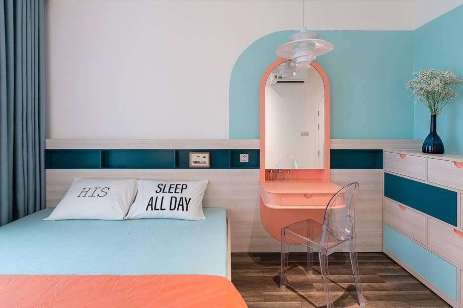 Thiết kế nội thất màu kẹo ngọt, hạn chế góc cạnh cho nhà có trẻ nhỏ của đôi vợ chồng Sài Gòn-8