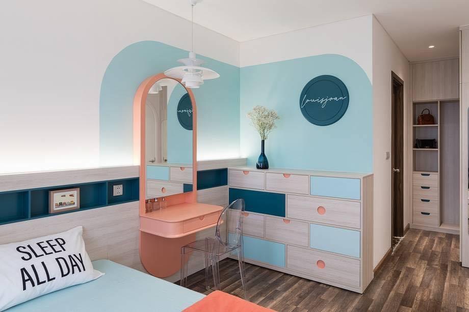 Thiết kế nội thất màu kẹo ngọt, hạn chế góc cạnh cho nhà có trẻ nhỏ của đôi vợ chồng Sài Gòn-9