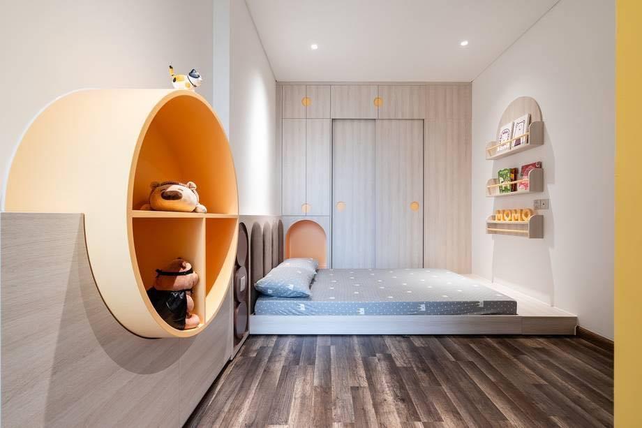 Thiết kế nội thất màu kẹo ngọt, hạn chế góc cạnh cho nhà có trẻ nhỏ của đôi vợ chồng Sài Gòn-11