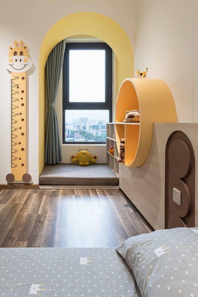 Thiết kế nội thất màu kẹo ngọt, hạn chế góc cạnh cho nhà có trẻ nhỏ của đôi vợ chồng Sài Gòn-12