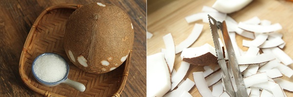 Cần giảm cân mà lại thèm ăn vặt thì phải làm ngay món dừa sấy giòn với 3 bước thần tốc!-1