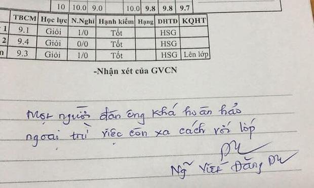 Thầy giáo phê sổ liên lạc chọc đúng điểm yếu của từng học sinh nhưng sao lại đáng yêu đến thế này!-1