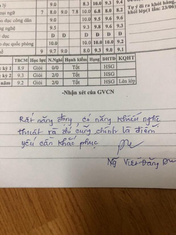 Thầy giáo phê sổ liên lạc chọc đúng điểm yếu của từng học sinh nhưng sao lại đáng yêu đến thế này!-3
