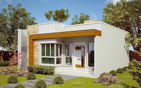 Những mẫu nhà cấp 4 đẹp ở nông thôn giá rẻ, chi phí thấp hoàn toàn có thể xây được-2
